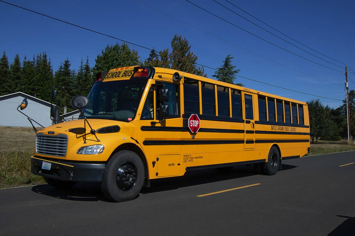 Many school bus drivers in the Vancouver Public School District have been furloughed during the pandemic. File photo