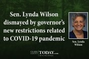 Sen. Lynda Wilson dismayed by governor's new restrictions related to COVID-19 pandemic