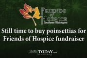 Still time to buy poinsettias for Friends of Hospice fundraiser