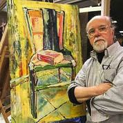 Tom Relth of Vancouver said he is looking forward to trying new things, such as participating in Artists Sunday. Photo courtesy Tom Relth