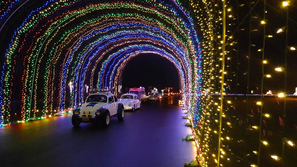 The Safeway Winter Wonderland Holiday Light Show opens Friday. It provides a safe drive through holiday light viewing experience while benefiting area families in need. Photo courtesy of Sunshine Division