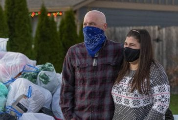 Giving: Blanket parade surprises family