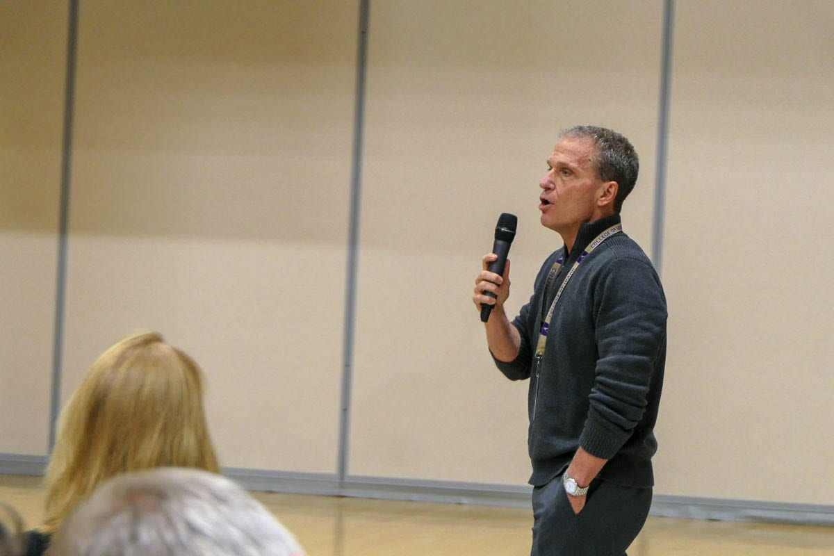 Battle Ground Public Schools Deputy Superintendent Denny Waters in 2019. Waters will become the district's next superintendent on July 1, 2021. Photo by Chris Brown