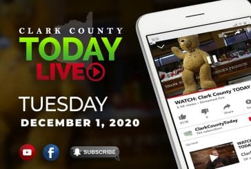 WATCH: Clark County TODAY LIVE • Tuesday, December 1, 2020
