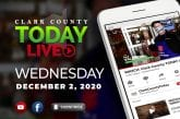 WATCH: Clark County TODAY LIVE • Wednesday, December 2, 2020