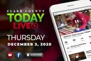 WATCH: Clark County TODAY LIVE • Thursday, December 3, 2020