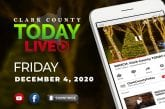 WATCH: Clark County TODAY LIVE • Friday, December 4, 2020
