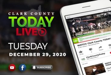 WATCH: Clark County TODAY LIVE • Tuesday, December 29, 2020