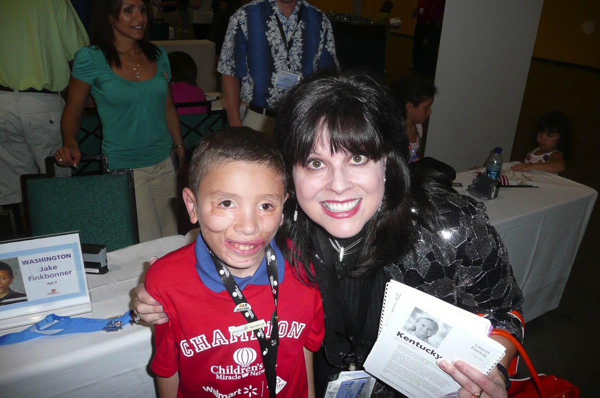 Sarah Bang loved the Children's Miracle Network and what they do for kids. Over the years she helped raise millions of dollars for this charity. Photo courtesy Sarah Bang