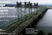 Bi-state Interstate Bridge legislators get project update
