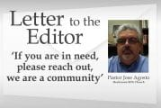 Letter: 'If you are in need, please reach out, we are a community'