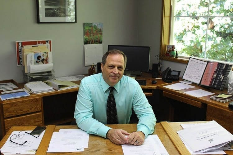 Mark Ross, Battle Ground Public Schools superintendent, announced this week he's retiring at the end of the school year. Photo courtesy Battle Ground Public Schools