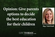 Opinion: Give parents options to decide the best education for their children