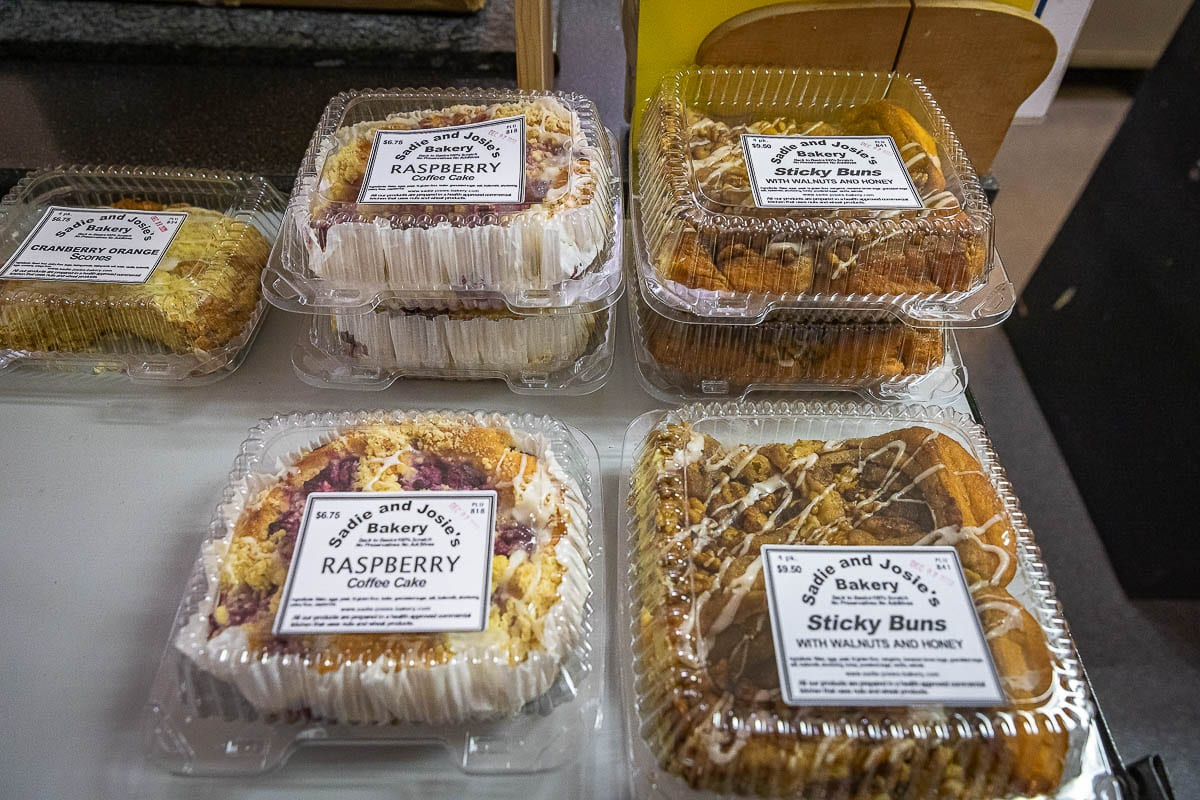 Everything sold at the Sadie and Josie's Bakery is made from scratch. Photos by Mike Schultz