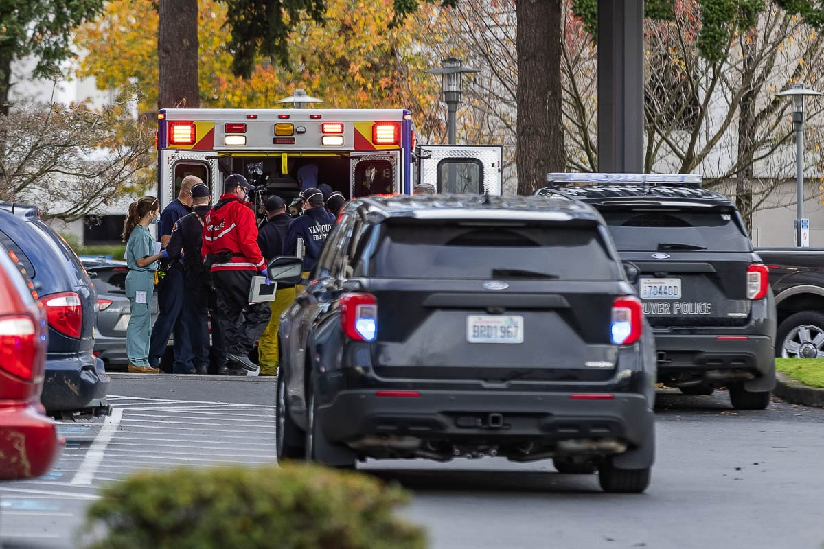 Two victims were injured in a shooting a medical facility in Vancouver Tuesday. Photo by Mike Schultz