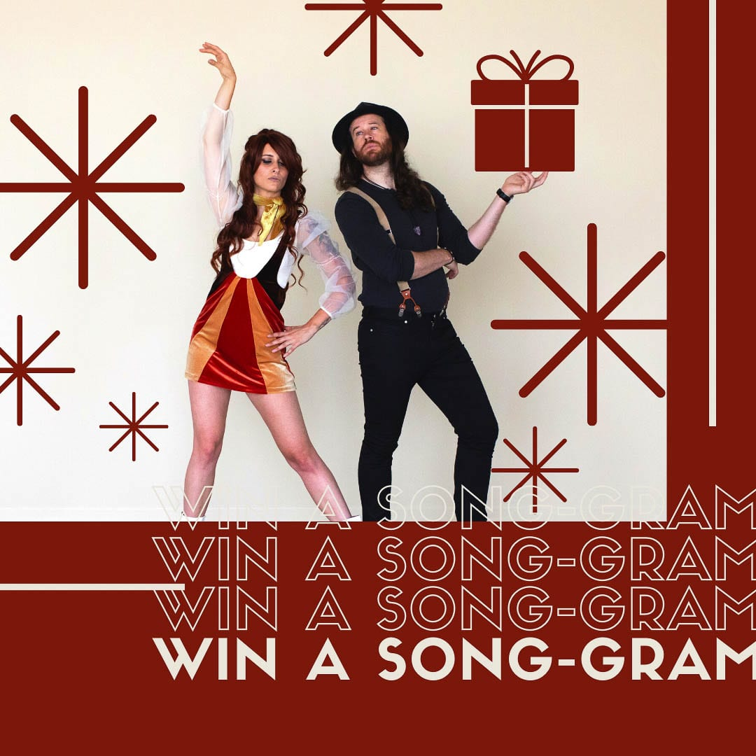 Our Custom Song currently has a contest open to win a free Song-Gram open for submissions through Dec. 15. Photo courtesy of Fox and Bones