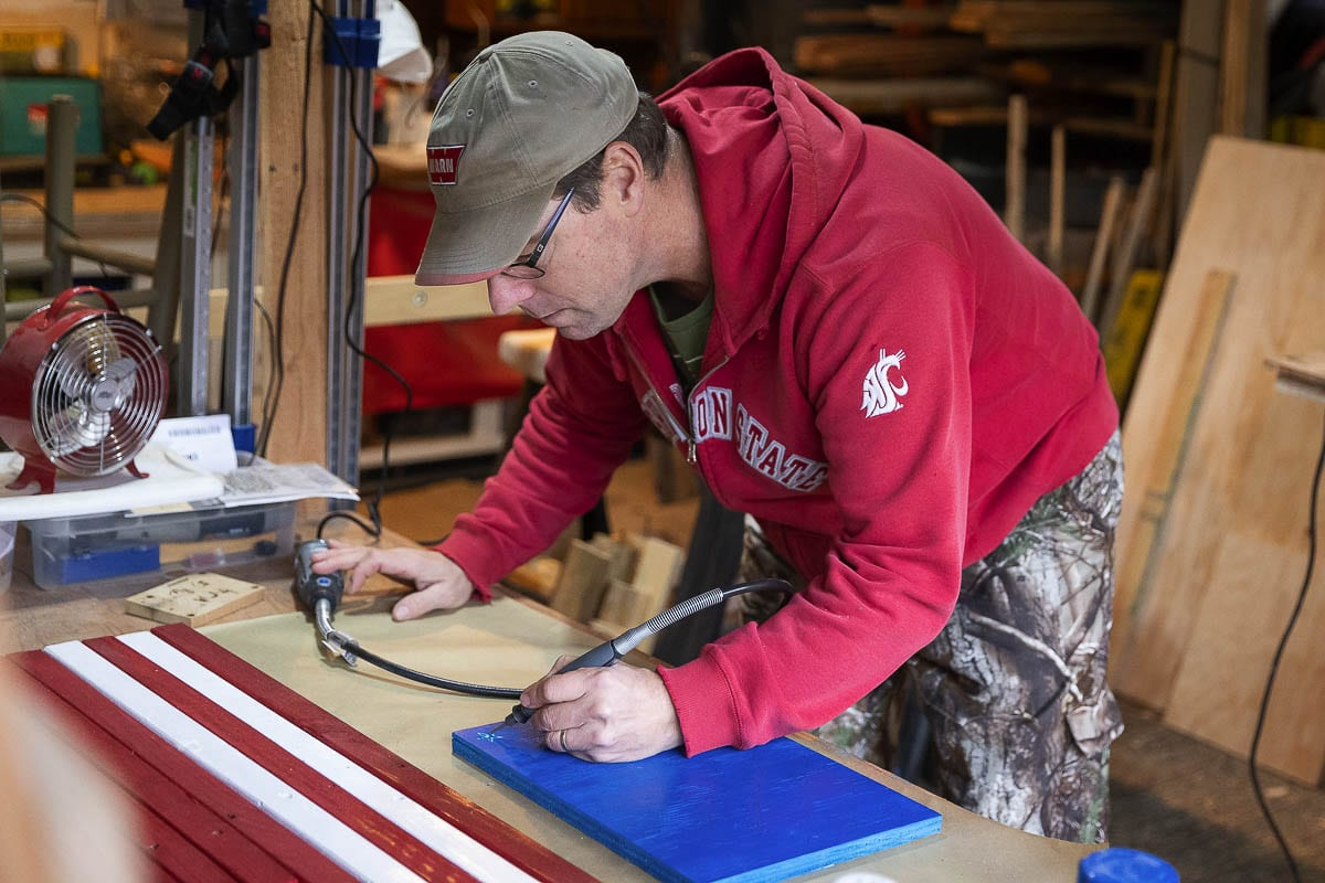 Former professional baseball player Tom McGraw said he had a transformation eight years ago. Now, he is a follower of Jesus Christ, leads his family, is a woodworker, and serves as a certified nursing assistant. Photo by Mike Schultz