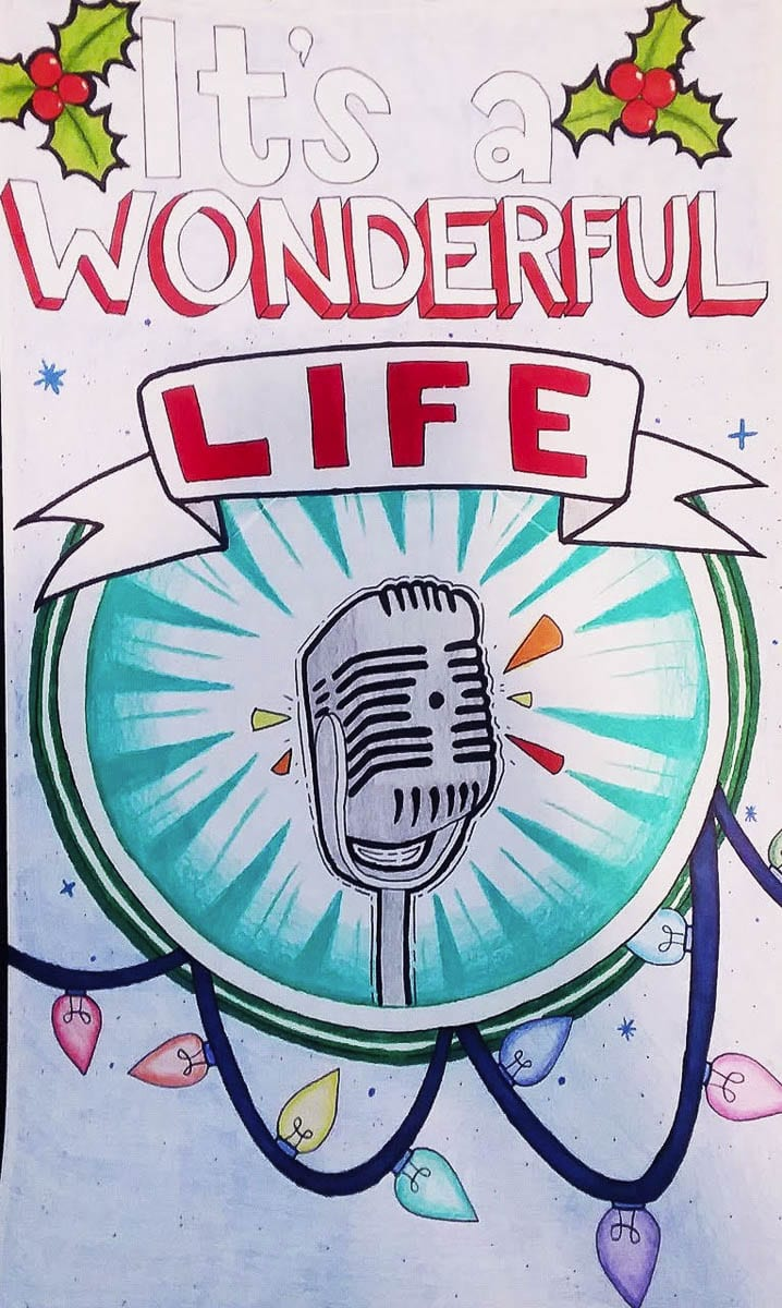 This poster for Ridgefield High School's production was created by student Patricia Catacutan. Photo courtesy RHS Theater