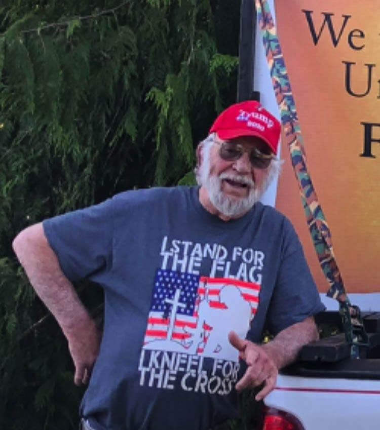 Dave Alt loved America and our flag and was a believer in Christ. He was active in his church and in supporting conservative causes. Photo by Josh Bradley