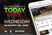 WATCH: Clark County TODAY LIVE • Wednesday, January 20, 2021