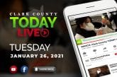 WATCH: Clark County TODAY LIVE • Tuesday, January 26, 2021