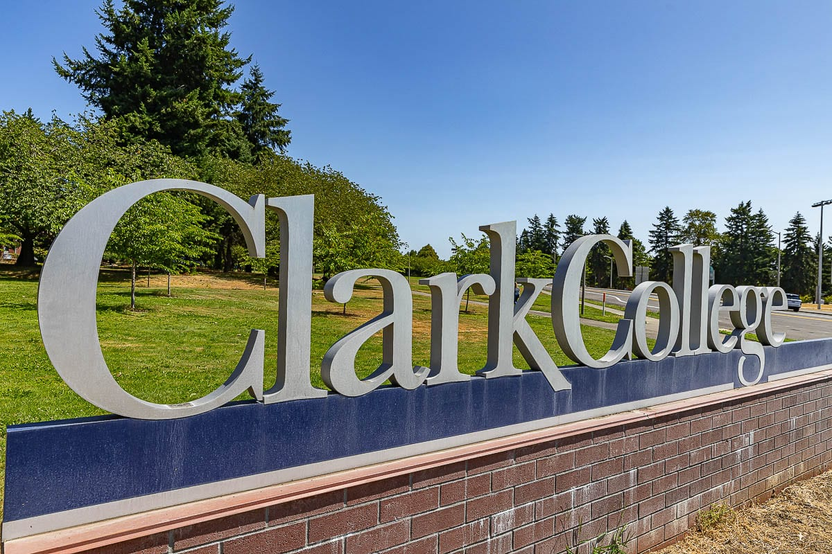 Clark College currently has close to 8,500 students that normally traverse its campuses each week. Many are currently learning only through remote or online instruction. Photo by Mike Schultz