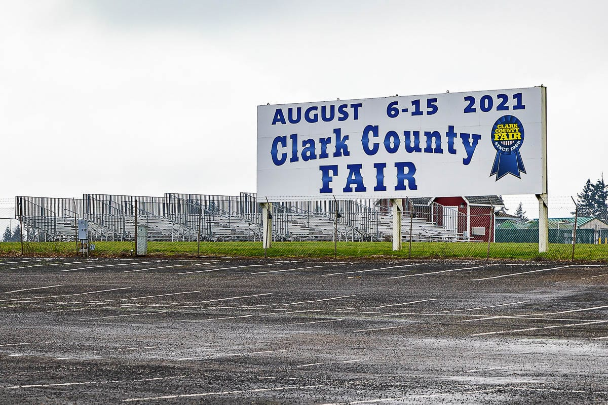 The Clark County Fairgrounds will be the site of a mass vaccination clinic for SW Washington, but initial appointments will be hard to come by. Photo by Mike Schultz