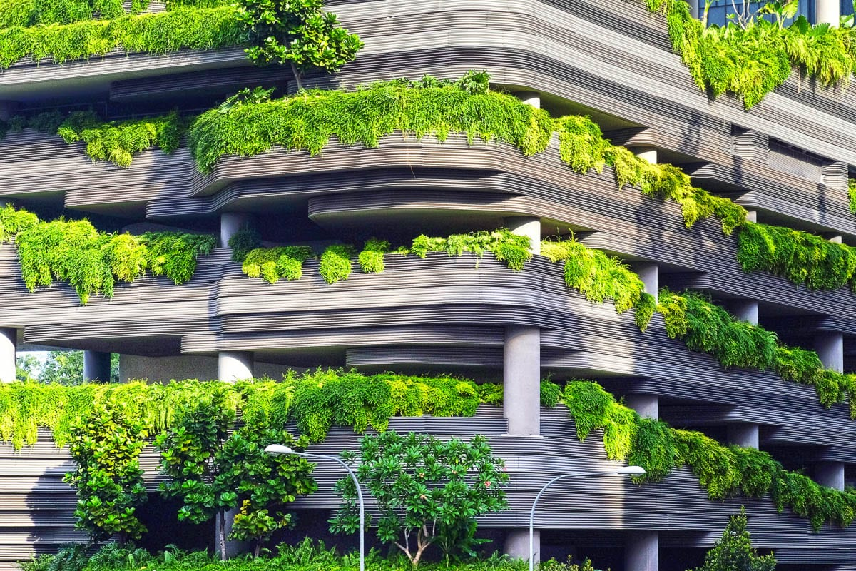 Denis Hayes focuses on how to build resilient cities with green, living buildings that rely less on petroleum resources. Photo courtesy of Unsplash.com