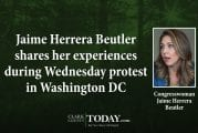Jaime Herrera Beutler shares her experiences during Wednesday protest in Washington DC