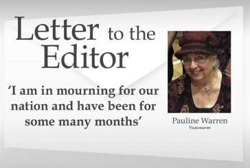 Letter: 'I am in mourning for our nation and have been for some many months'