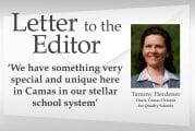 Letter: 'We have something very special and unique here in Camas in our stellar school system'