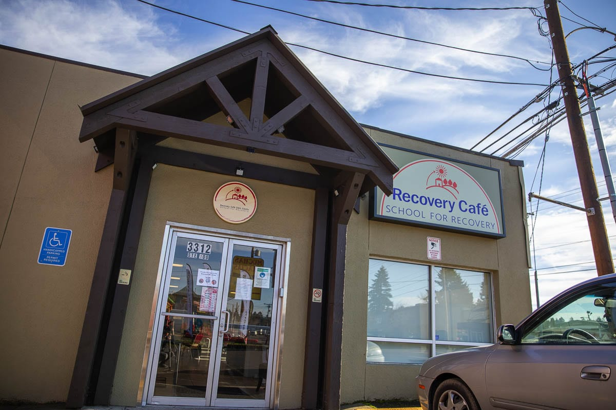 The Recovery Café in Orchards has fostered community building through close to 100 circles of people striving for recovery who meet each week. Photo by Jacob Granneman