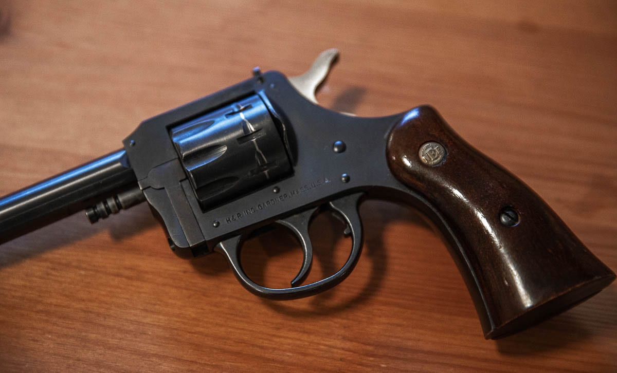 Small revolvers, like this one, are also common carries for those with a permit. They are often carried under a shirt or at the ankle. Photo Illustration by Jacob Granneman