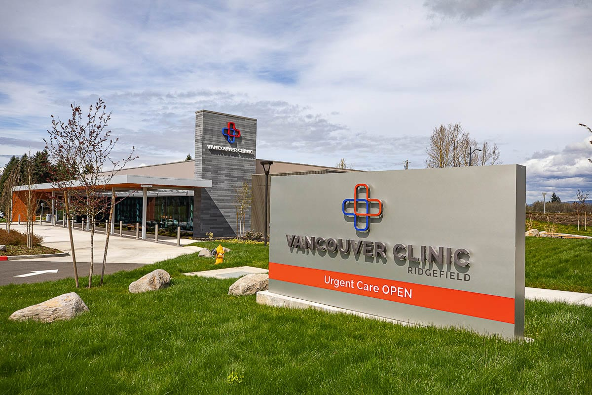 The Vancouver Clinic location in Ridgefield. File photo
