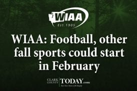 WIAA: Football, other fall sports could start in February