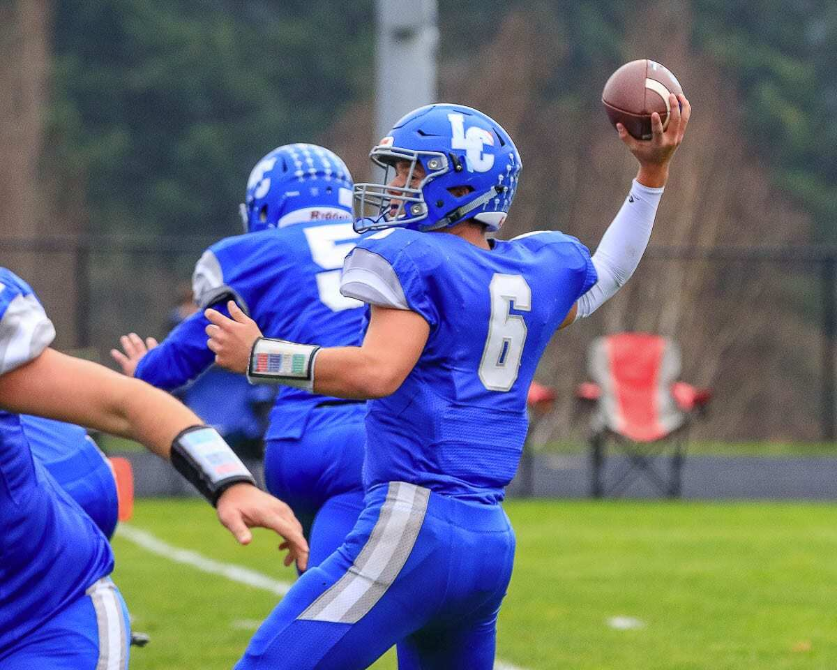 Tom Lambert and the La Center Wildcats just might throw the ball more than usual this season, according to coach John Lambert. Photo by Mike Schultz