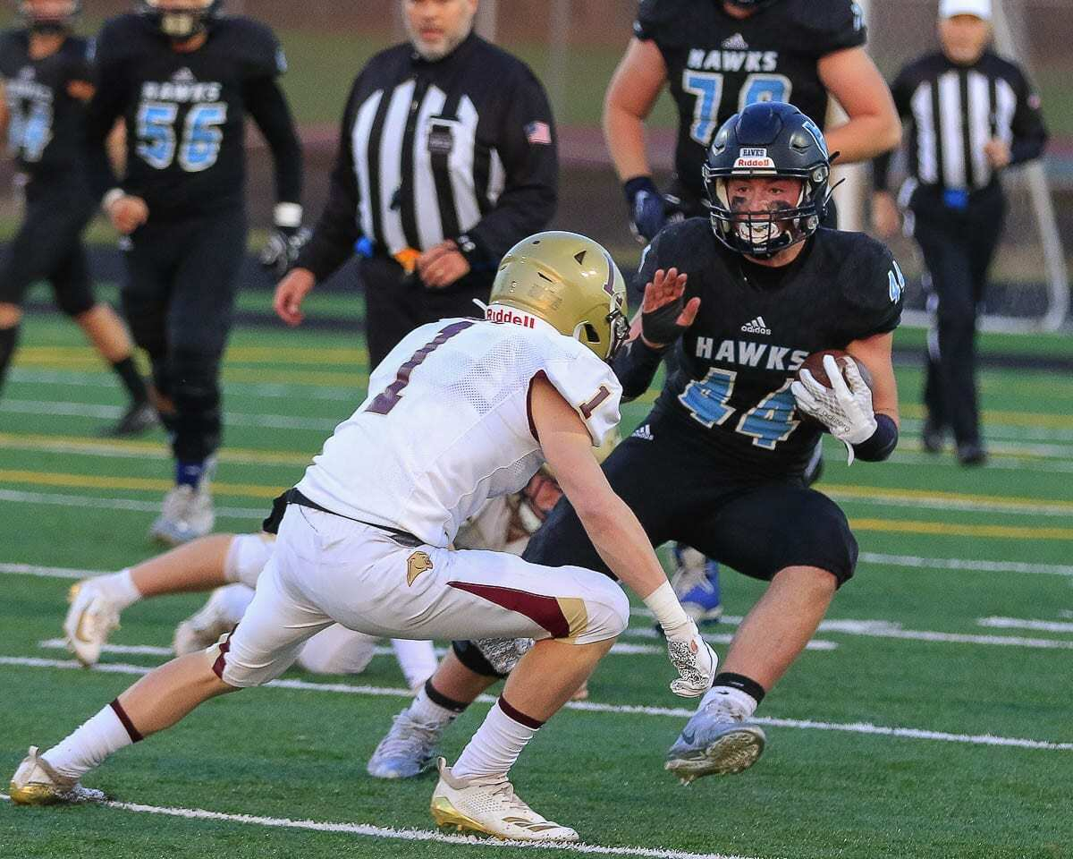 Cody Wheeler and the Hockinson Hawks are looking to continue their dominating ways in the 2A Greater St. Helens League. Photo by Mike Schultz