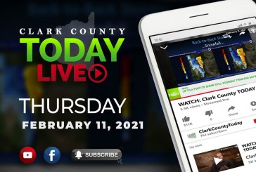 WATCH: Clark County TODAY LIVE • Thursday, February 11, 2021