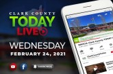 WATCH: Clark County TODAY LIVE • Wednesday, February 24, 2021