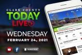 WATCH: Clark County TODAY LIVE • Wednesday, February 24, 2021