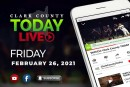 WATCH: Clark County TODAY LIVE • Friday, February 26, 2021