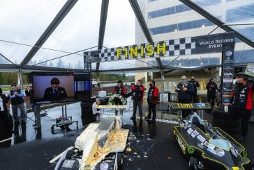 Michael Andretti, a car made of cake, and a grand opening at ilani