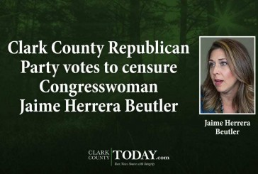 Clark County Republican Party votes to censure Congresswoman Jaime Herrera Beutler