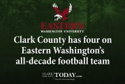 Clark County has four on Eastern Washington's all-decade football team