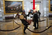 Battle Ground man arrested, charged in Jan. 6 breaching of the U.S. Capitol building