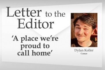 Letter: 'A place we're proud to call home'