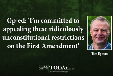 Opinion: 'I'm committed to appealing these ridiculously unconstitutional restrictions on the First Amendment'