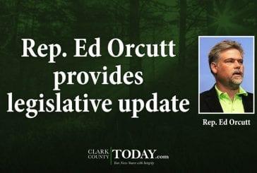 Rep. Ed Orcutt provides legislative update