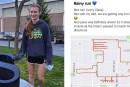 Skyview cross country athlete turns running into art
