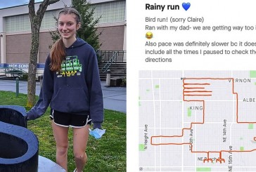 Skyview cross country athlete turns running into art